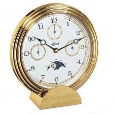 <b>Hermle 22641-002100</b> - <b>Часы</b> каминные в корпусе золотого цвета ...