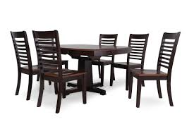 seven piece dining set: winners only santa fe seven piece dining set