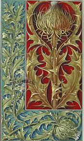 Ботанические иллюстрации, <b>Картины</b> и Уильям моррис