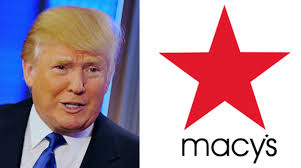 Image result for Donald Trump macy's