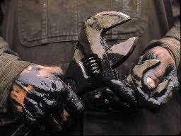 Image result for greasy mechanic hands