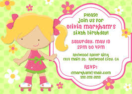 birthday invitations for kids ideas