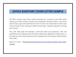 Administrative Job Cover Letter   administrative assistant cover letter   My