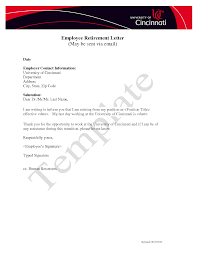 retirement letter to employer retirement letter to notify retirement to employer goodbye retirement letters sample retirement