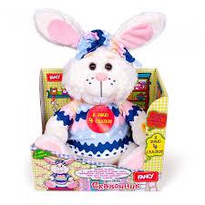 <b>Интерактивная игрушка Fancy</b> Заяц сказочник 18 см ...