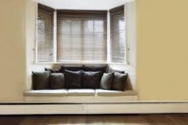 stylish window seat with clean lines bay window seat cushion