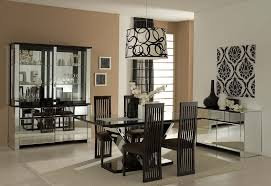 Full Dining Room Sets Full Size Of Tables Amp Chairs Elegant Black Metal Modern Dining