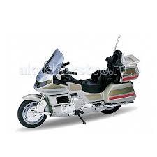 <b>Модель мотоцикла 1:18</b> Honda Gold Wing <b>Welly</b> — купить в ...