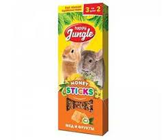 <b>Палочки Для</b> Кроликов Шиншилл и Морских Свинок <b>Happy Jungle</b> ...