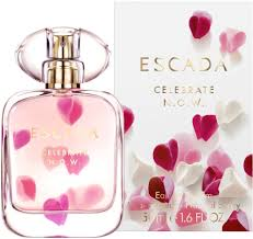 <b>Escada Celebrate Now</b> EdP 50ml in duty-free at airport Boryspil ...