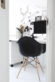 stylizimo home office black white home office inspiration