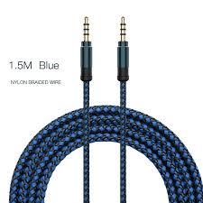 AUX <b>Jack</b> 3.5mm <b>Audio</b> Cable <b>Nylon</b> Braid 3.5mm Car AUX Cable ...