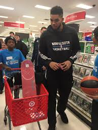 mahendra persaud mpersaud twitter timberwolves brighten the spirits of 20 deserving kids today w a surprise target shopping spree cheers guys seasonofgivingpic com dn3nng4btf
