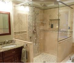 brown elegance smart minimalist bathroom design ideas with large bathroom size as modern bathrom inspiration 100x100 ample shower lighting