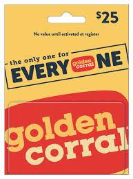 Golden Corral $25 Gift Card - Walmart.com - Walmart.com