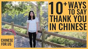 12 Ways | How to Say <b>Thank</b> You in <b>Chinese</b>-Express <b>Gratitude</b> in ...