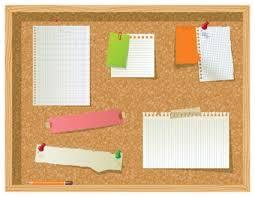 1 vector bulletin board bulletin board