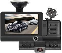 Dash Cam <b>3</b> Lens 4 '' G-sensor HD 1080P <b>Car DVR</b> Dash Cam ...