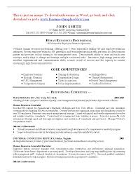entry level human resource resumes template entry level human resource resumes