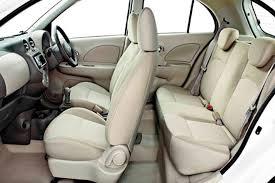 Nissan Micra seats