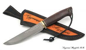 <b>Нож</b> Засапожный сталь Булат рукоять карельская береза ...