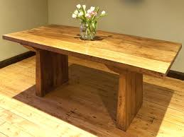 chunky dining table and chairs room decoration photo informal chunky square wood dining table