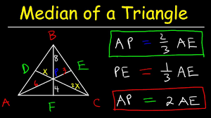 Median of a <b>Triangle</b> Formula, Example Problems, Properties ...