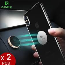 FLOVEME <b>Magnetic Car Phone</b> Holder[2 pack],Universal Wall Desk ...