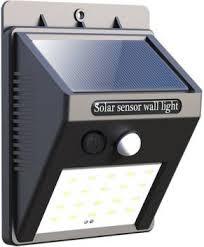 lavya 20 LED <b>Solar Power LED</b> Solar light Outdoor Wall LED Solar ...