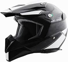 Stealth Flyte <b>Carbon</b> Fiber Pro-<b>Style</b> Graphic <b>Off</b>-<b>Road</b> Helmet (Grey ...