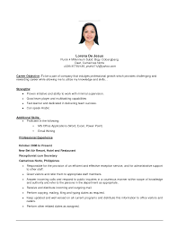 career objective examples best business template cover letter career objective for it resume career objective for throughout career objective examples 4442