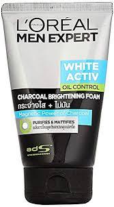 Buy <b>L'Oreal Paris Men</b> Expert White Activ Oil Control Charcoal Foam ...