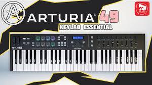 <b>MIDI клавиатуры ARTURIA KeyLab</b> Essential 61, KeyLab Essential ...