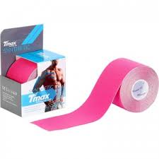 <b>Тейп кинезиологический Tmax Synthetic</b> Pink 5 см x 5 м купить в ...