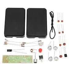 Kits & Bundles - <b>3Pcs RF-01 DIY Wireless</b> Microphone Parts 5mA ...