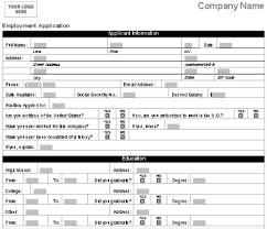 job application template  printable templates job application template
