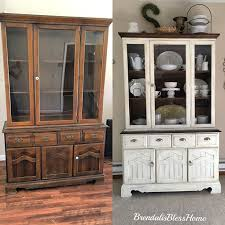ideas china hutch decor pinterest: found this cute china cabinet in the thrift store after  days this is the