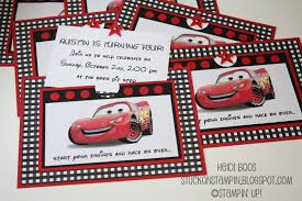stuck on stampin birthday boy cars style a couple of fun treat bags using the scallop circle punch and coordinating circle punches i created the thanks for coming to my party