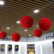 2019 <b>50 Cm</b> Dia Elegant Rose Flower Ball <b>Artificial</b> Bouquet ...