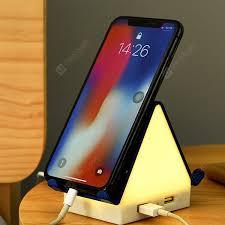 Multi-function Night Light Bedside Lamp <b>Smart Multi</b>-<b>port</b> USB ...