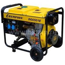 <b>Генератор дизельный Champion</b> DG 6501 E — купить по цене 48 ...