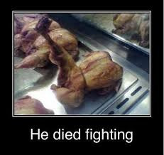 He died fighting - Funny Memes via Relatably.com