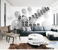 modern abstract 3d wall murals golden ball mural paper home decoration wallpaper for papel de parede