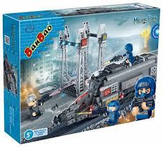 <b>Конструктор BanBao</b> Миссия Орел 6208 Железнодорожное ...
