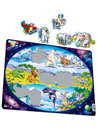 """<b>Пазл</b> """"<b>Планета животных</b>"""" <b>LARSEN</b> AS 2884848 в интернет ..."""