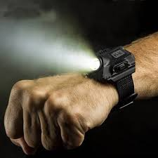Waterproof LED <b>Tactical</b> Display Rechargeable Wrist <b>Watch</b> ...