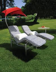 patio double chaise lounge wicker
