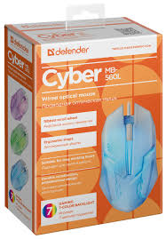 Характеристики модели <b>Мышь Defender Cyber</b> MB-560L USB ...