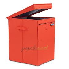 <b>Сумка для белья модульная</b> 35 л текстиль оранжевый серия ...