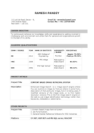 resume format for school teachers freshers in professional resume format for school teachers freshers in bed school teacher freshers cv samples and formats